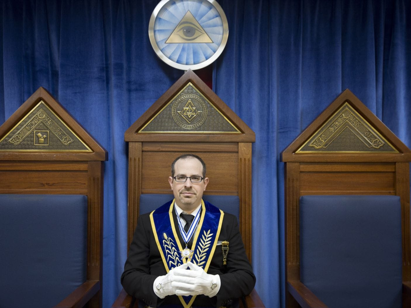 Roy G. Guttmann, a lawyer and the president of the Freemason Lodge Muffelmann Oman 29.