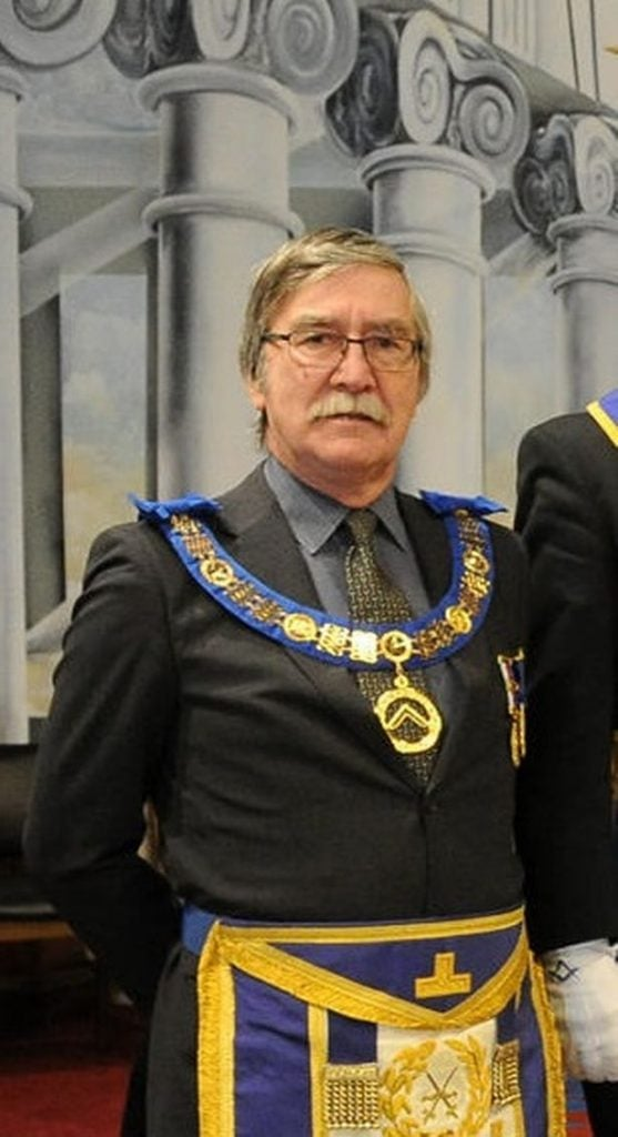 Bill wants to encourage people to visit the Masonic Lodge (Image: Peter Harbour)