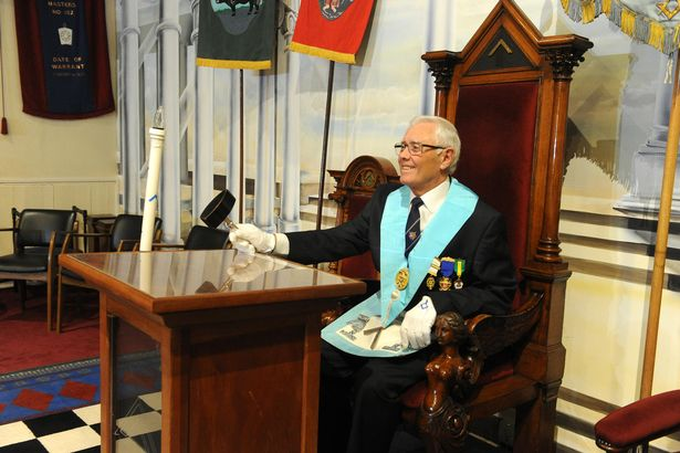Worshipful Master Russell Garbutt (Image: Peter Harbour)
