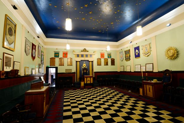The grand hall inside the Lodge (Image: Peter Harbour)