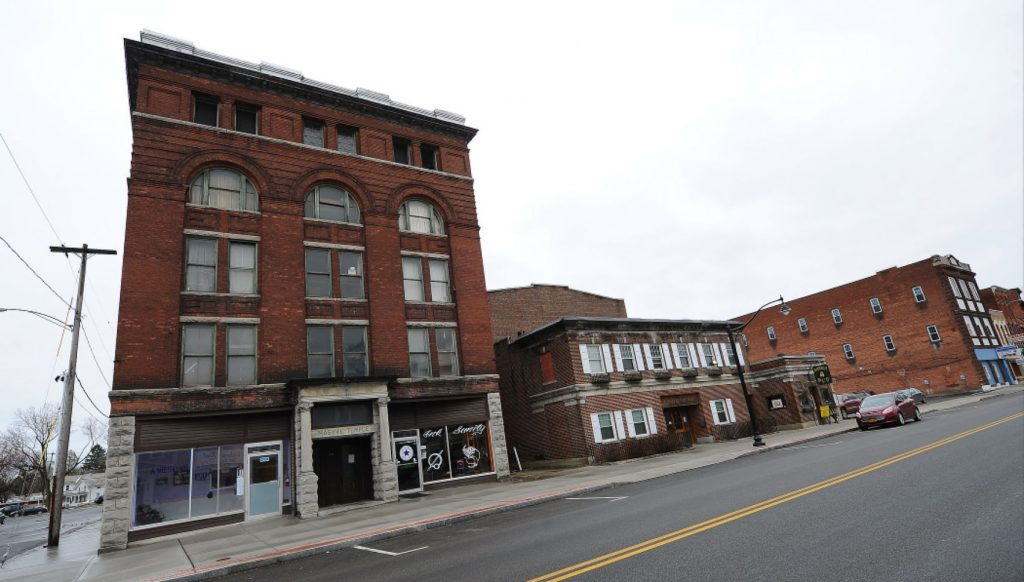 Plans for Masonic Temple retracted after variance OK'd in Hudson Falls