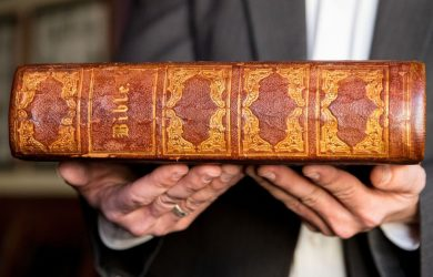 After chance discovery, Freemasons acquire Bible belonging to early Omaha 'mover and shaker' George Lininger