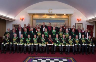 Freemasons celebrate 250 years in Musselburgh