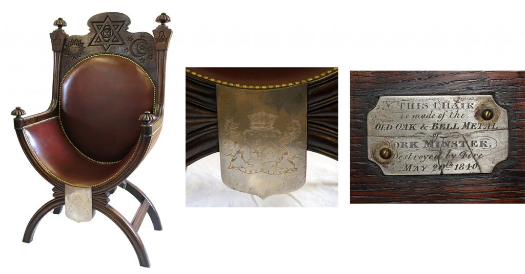 Masonic chair goes under hammer at Wokingham auction