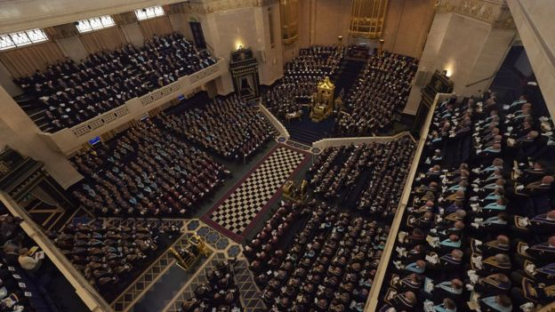 There are about six million Freemasons worldwide and more than 200,000 in the UK under the United Grand Lodge of England