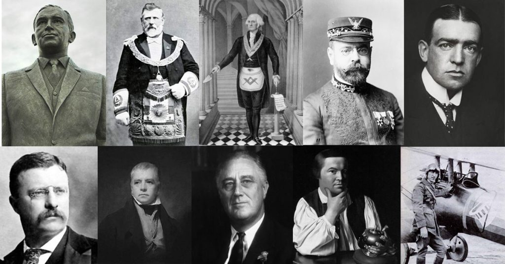 List Of Famous Freemasons