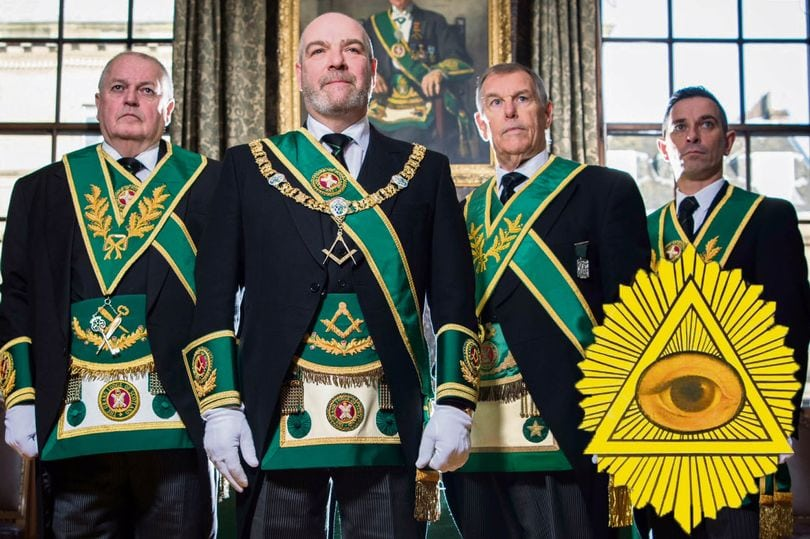 Secrets of Freemasons revealed as Grand Lodge lets in TV cameras and deny Illuminati and occult links
