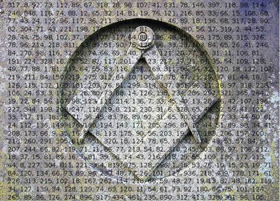 Does Cryptic Code Hidden in Beale Ciphers Reveal Secrets of the Freemasons?