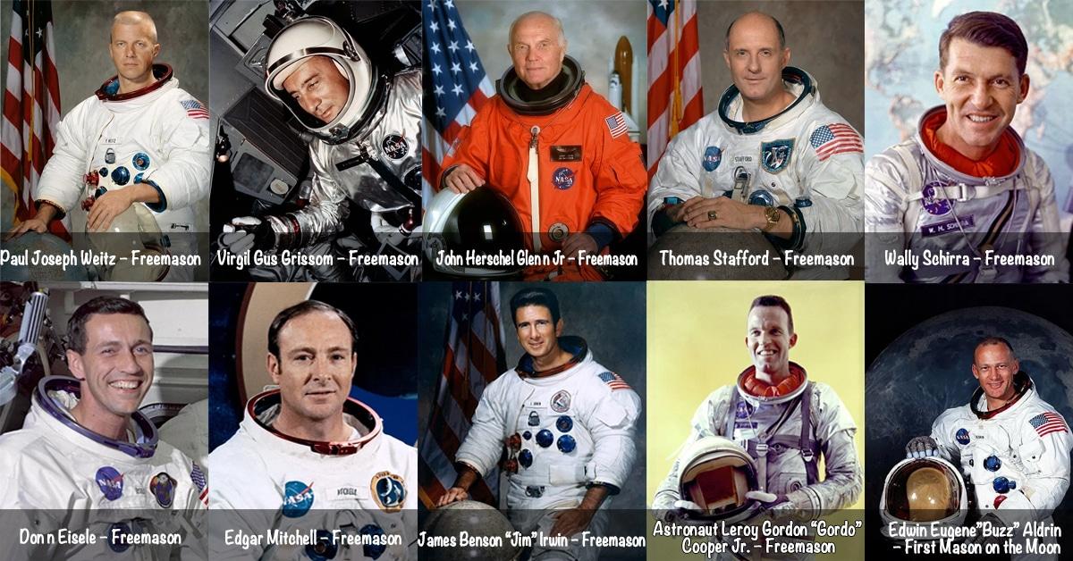 Masonic Astronauts