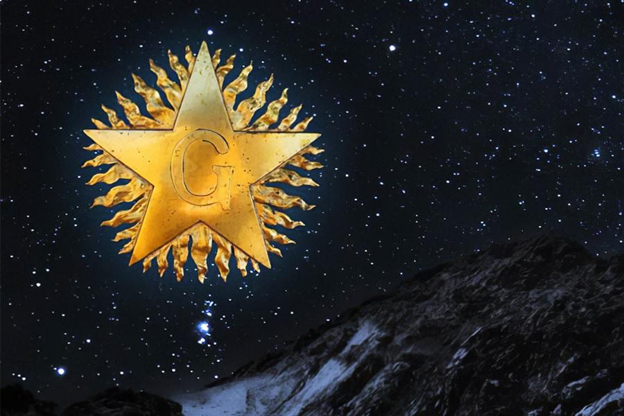 Masonic Blazing Star