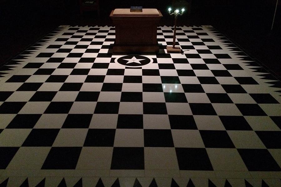 Masonic Pavement