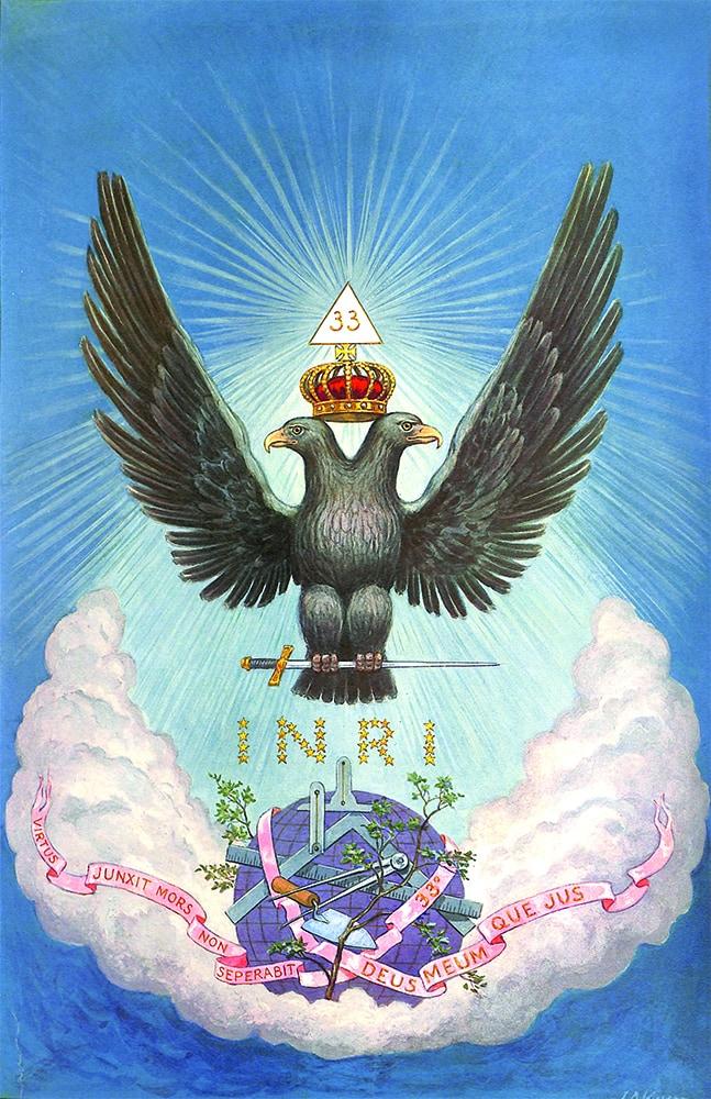 Two-Headed Eagle Masonic Symbol