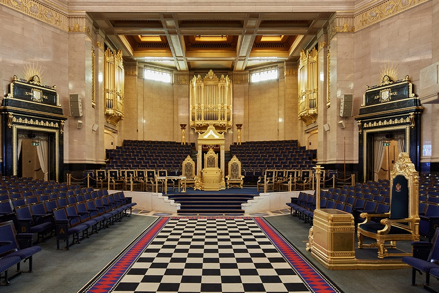 the Grand Lodge of England
