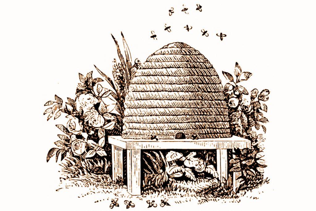Masonic Beehive