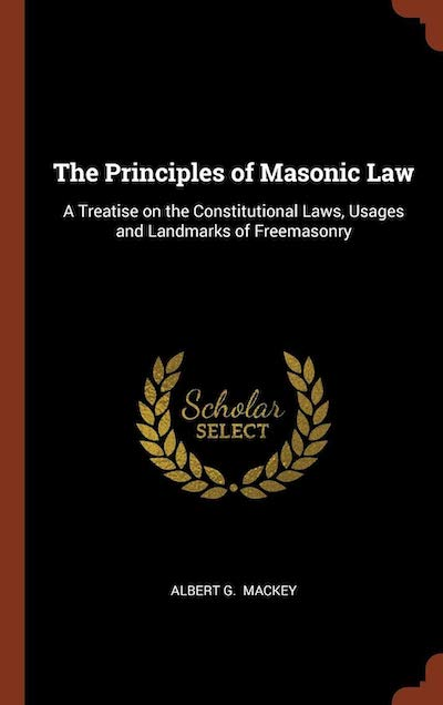 Masonic Book - The Principles of Masonic Law