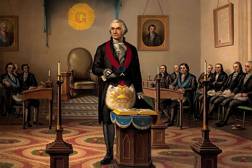 George Washington: the most famous Mason