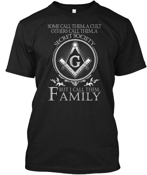 I Call Them Family Freemason Shirts