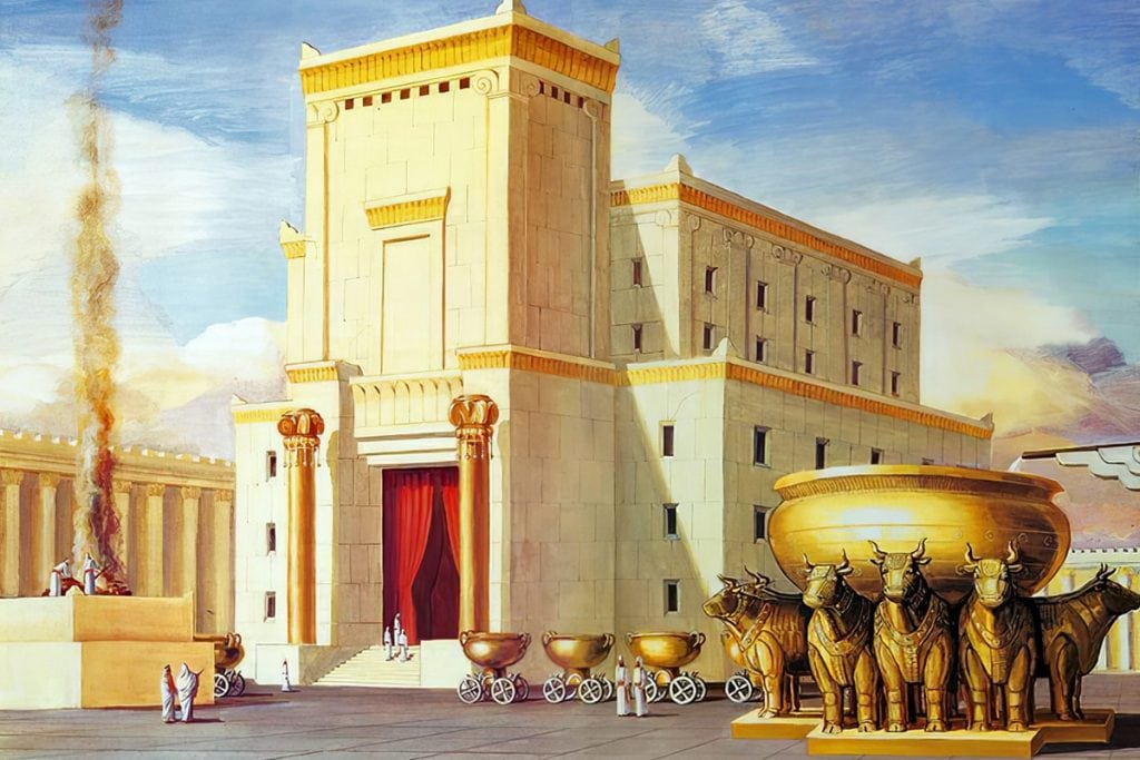 King Solomon's Temple in Freemasonry