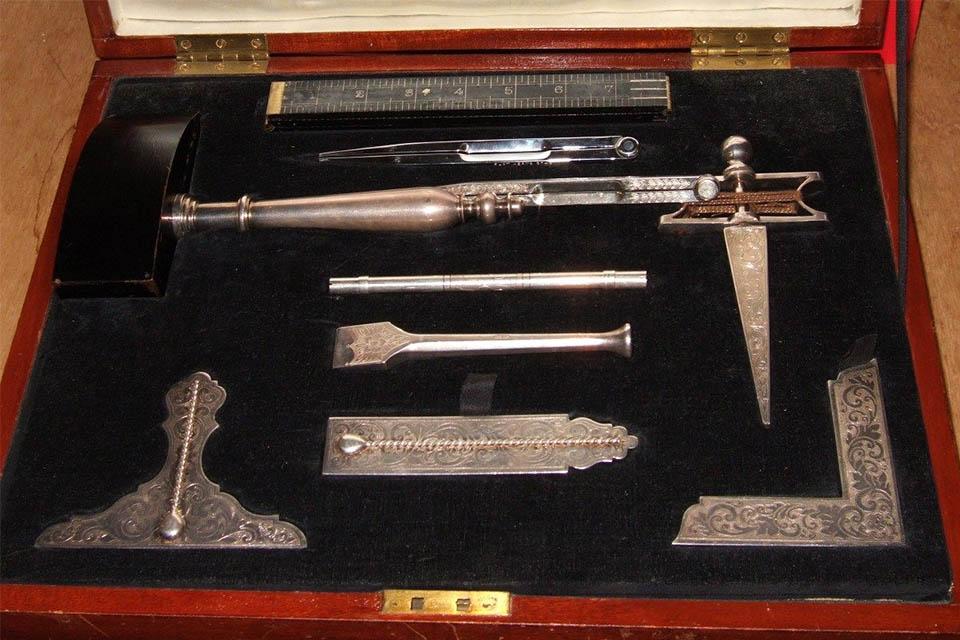 Master Mason's tools