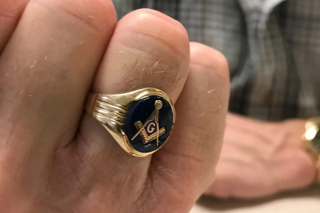 The Weight of the Masonic Ring