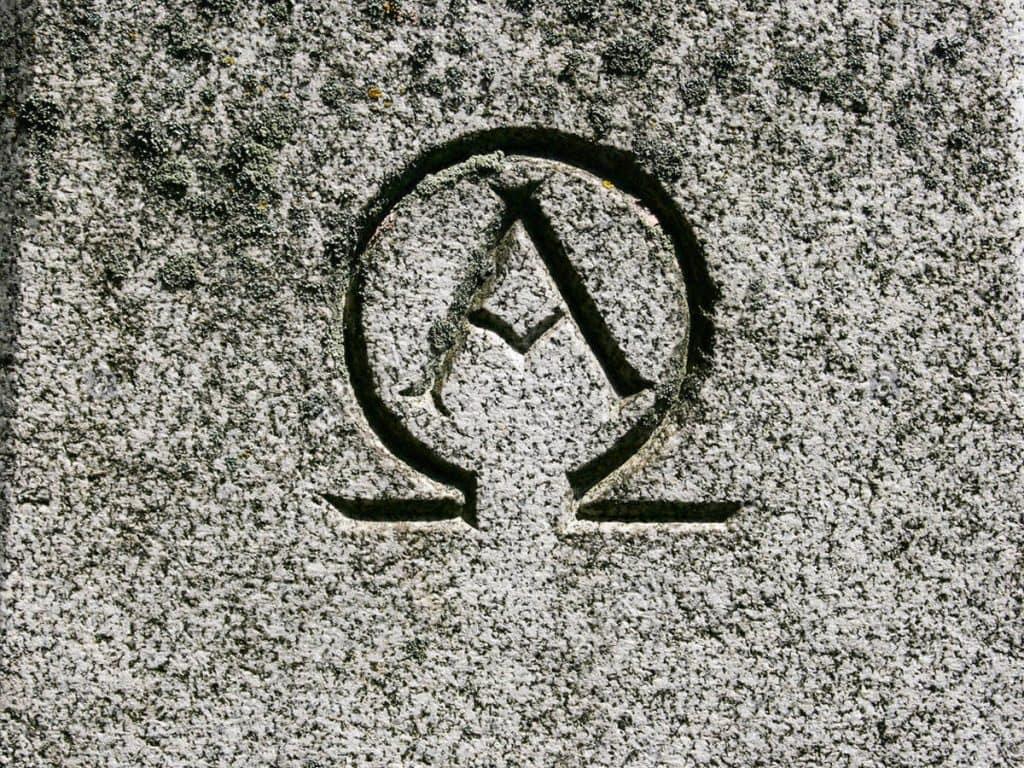 The Alpha and Omega symbols
