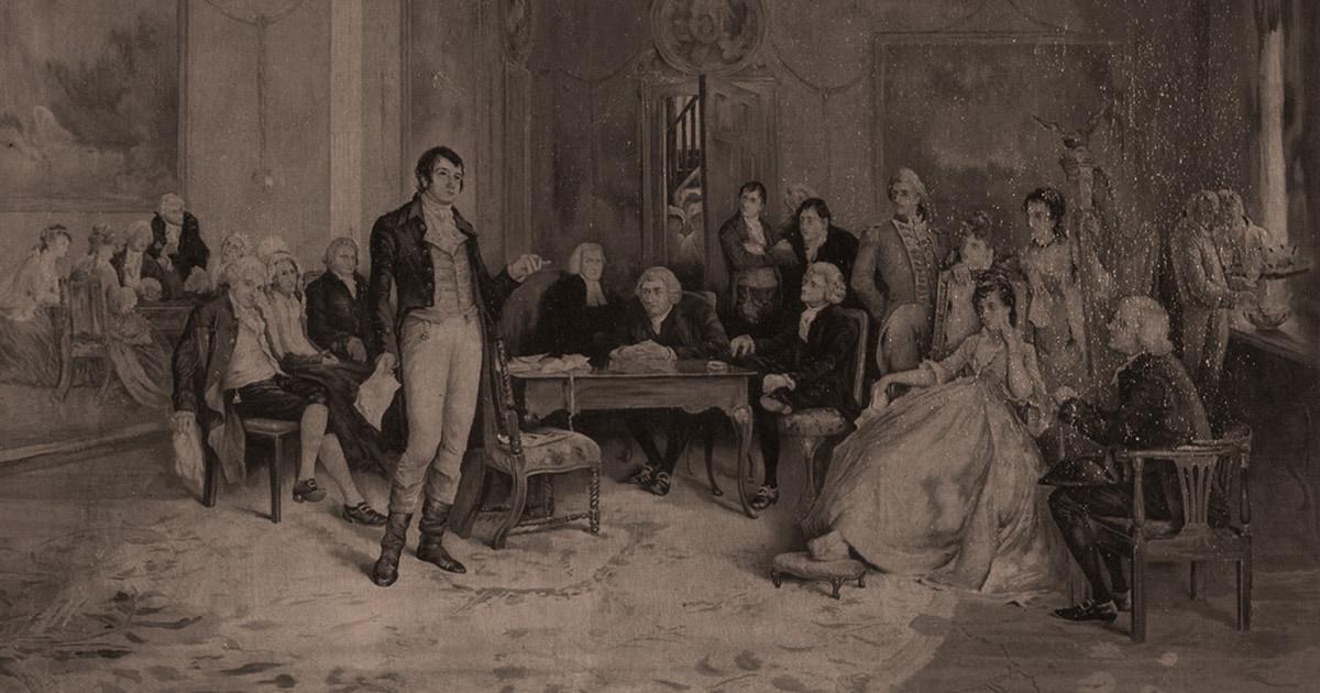 Burns' Farewell to Freemasonry