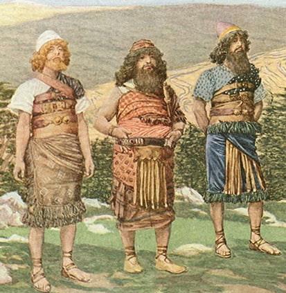 Japhet, Ham, and Shem