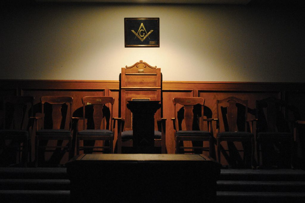 Masonic Lodge serects