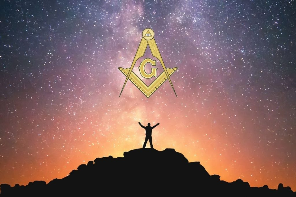 The Edge of the Universe in Freemasonry