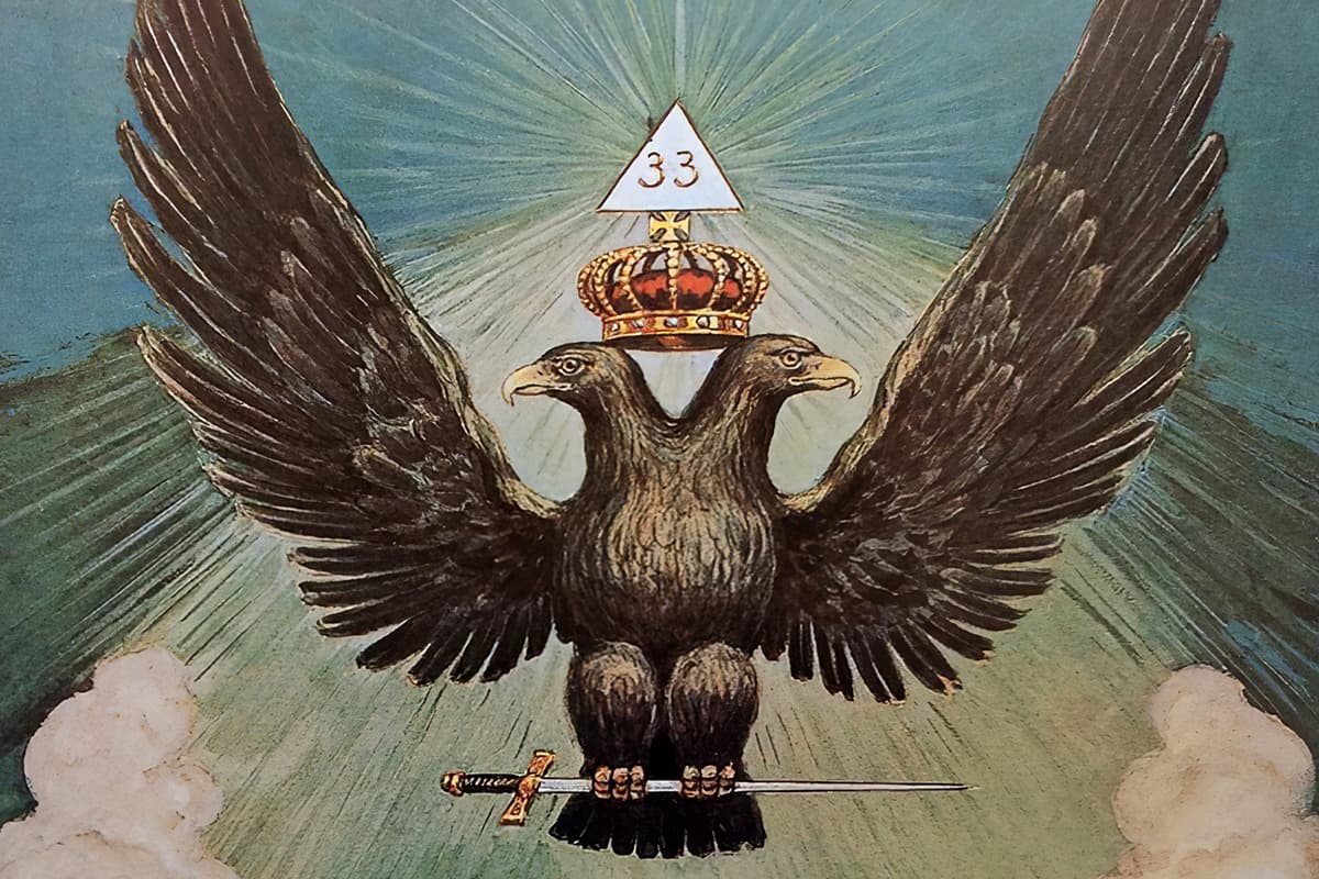 The Two-Headed Eagle of The Ancient and Accepted Rite