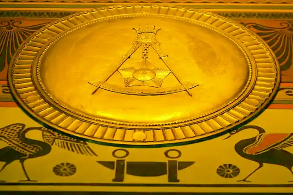 The color Yellow Freemasonry