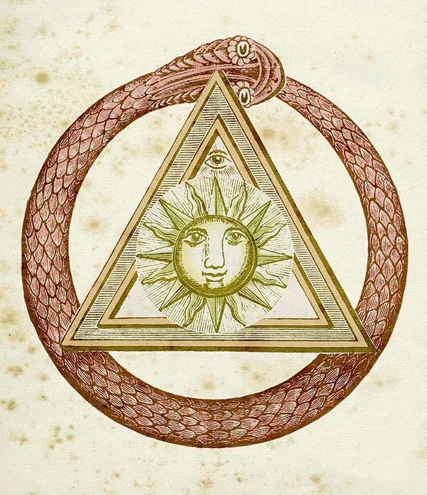 The serpent in Freemasonry