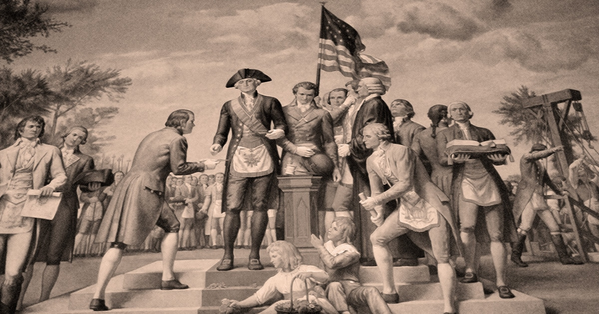 The Masonic Role in American History
