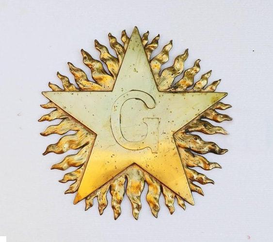 The Blazing Star Masonic symbol