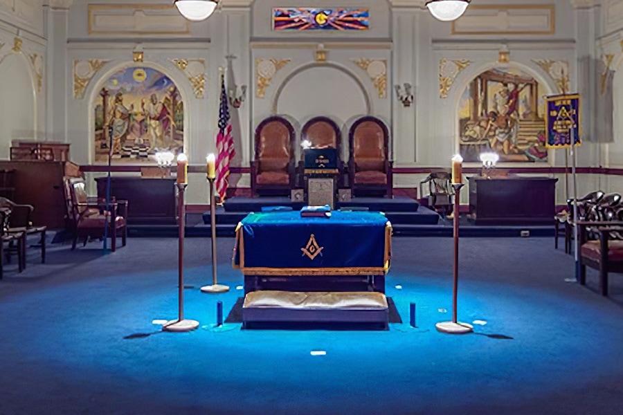 The Blue Lodge