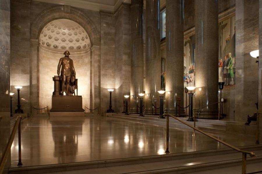 The George Washington Masonic Memorial in Washington, D.C.