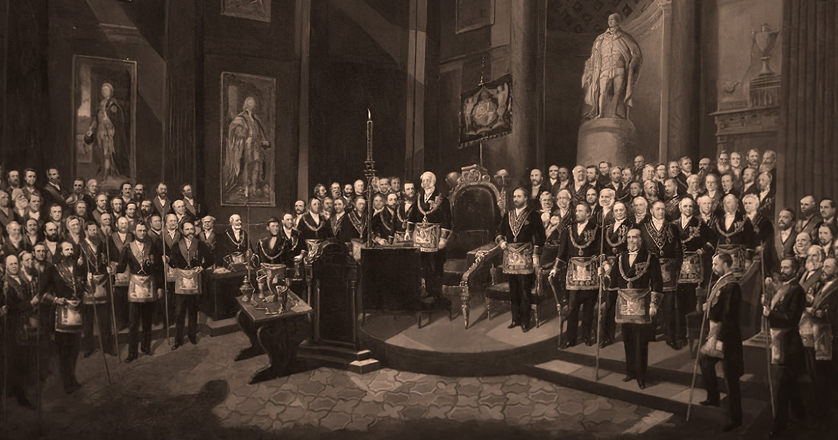 The History of Freemasons' Hall in London, England