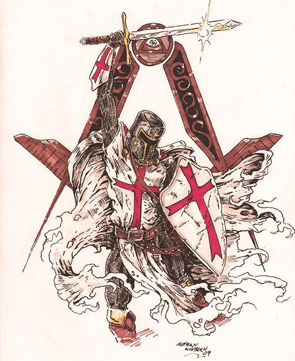 The Knights Templar and Freemasonry