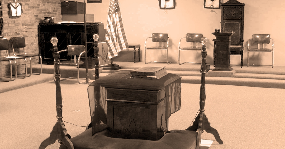 Why is There an Altar at the Centre of Masonic Lodges?