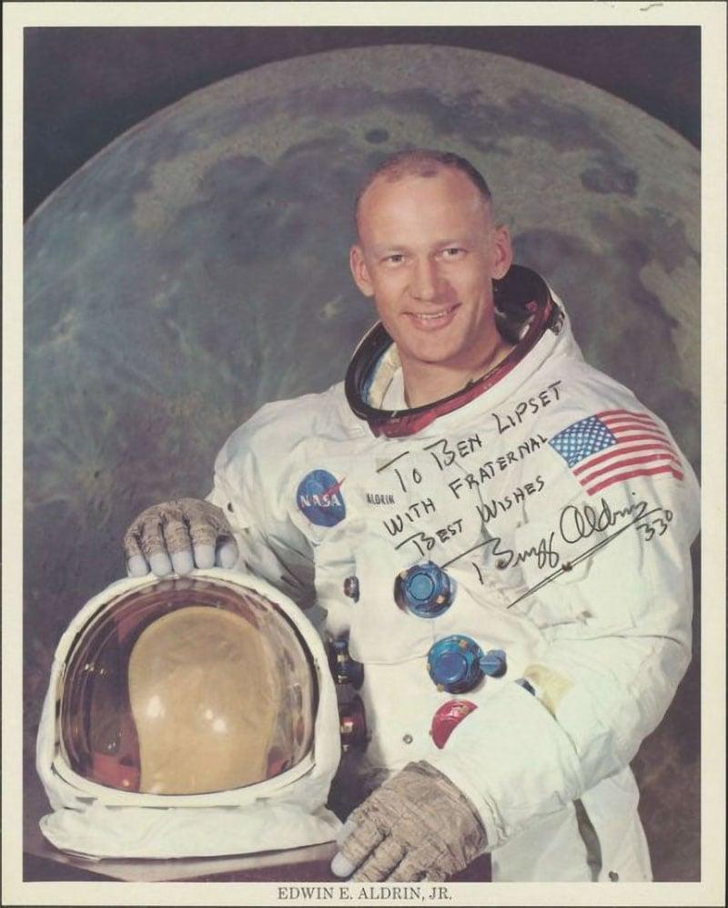 Brother Buzz Aldrin Freemason